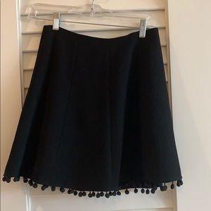 Club Monaco pom pom skirt